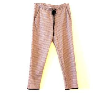Zara plaid jogging pants